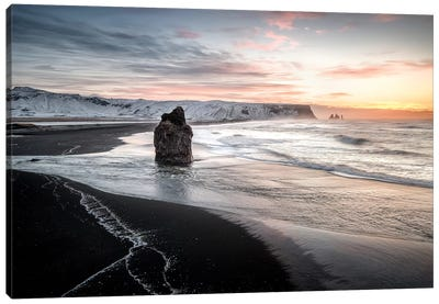 Vik Dyrhólaey In Iceland Canvas Art Print