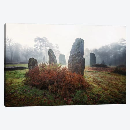 Bretagne Megalithes 3-Piece Canvas #PHM22} by Philippe Manguin Canvas Art Print