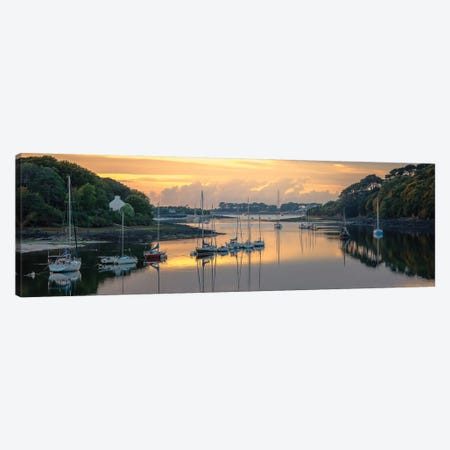 Brittany, L'Aber Wrac'h Canvas Print #PHM23} by Philippe Manguin Art Print