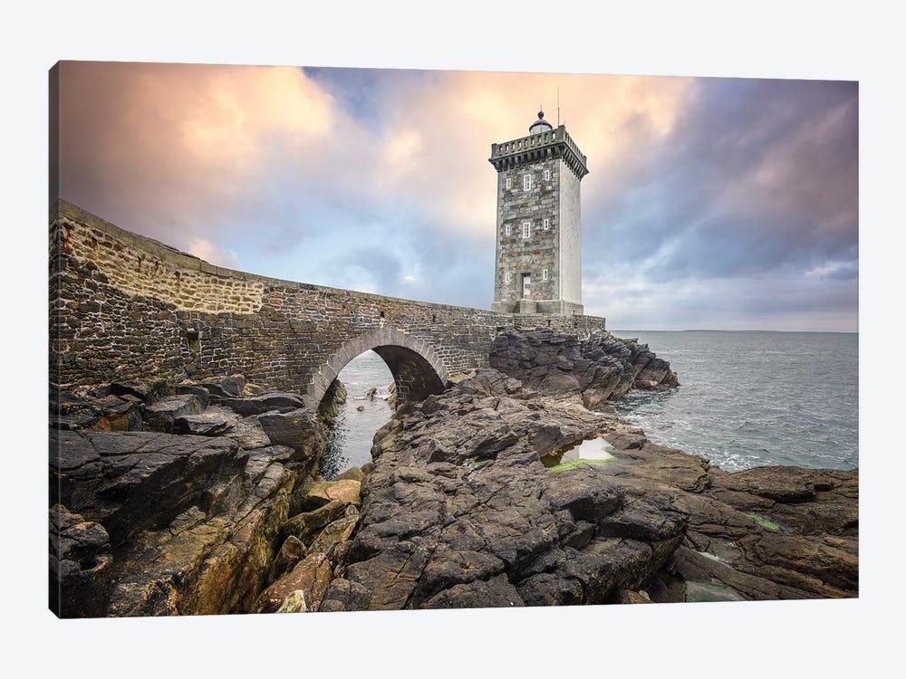 Bretagne, Le Phare De Kermorvan by Philippe Manguin 1-piece Canvas Artwork