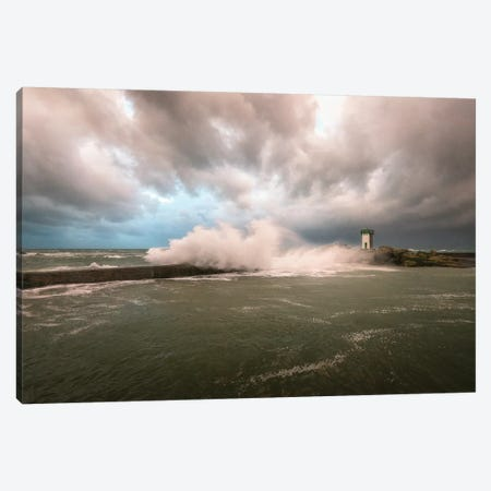 Bretagne, Le Phare De Trevignon Canvas Print #PHM247} by Philippe Manguin Canvas Print