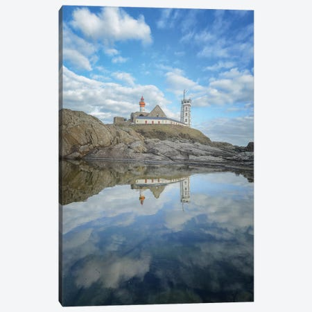 Bretagne, Miroir De La Pointe Saint Mathieu Canvas Print #PHM250} by Philippe Manguin Canvas Print