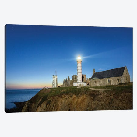 Bretagne, Pointe Saint Mathieu Canvas Print #PHM257} by Philippe Manguin Canvas Wall Art