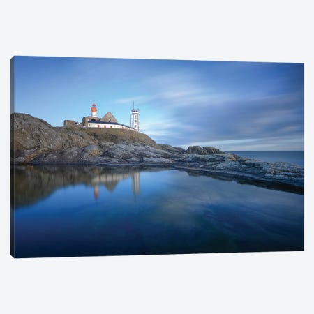 Bretagne, Reflets De La Pointe Saint Mathieu Canvas Print #PHM258} by Philippe Manguin Canvas Art Print