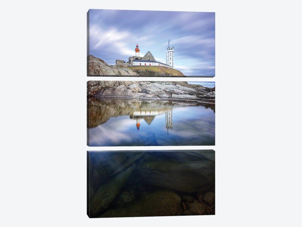 Bretagne, Reflets Sur Saint Mathieu by Philippe Manguin 3-piece Canvas Artwork