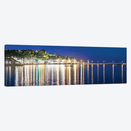 Cancale At Night Canvas Print #PHM265} by Philippe Manguin Canvas Art Print