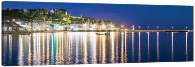 Cancale At Night Canvas Art Print