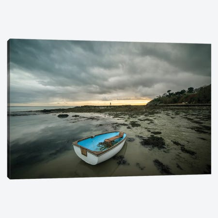 Cancale Sea Shore In Bretagne 3-Piece Canvas #PHM266} by Philippe Manguin Canvas Art Print