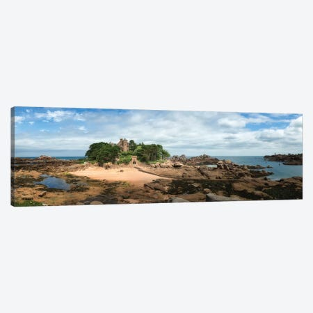 Costaeres Castle Bretagne  Canvas Print #PHM269} by Philippe Manguin Canvas Wall Art