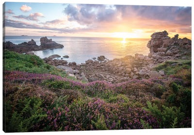 Cote De Granit Rose Sunrise Canvas Art Print