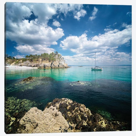 Crozon Paradise Canvas Print #PHM271} by Philippe Manguin Canvas Print