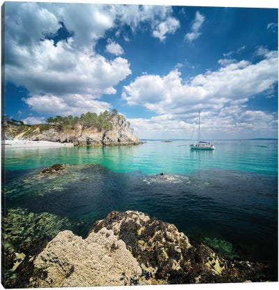 Crozon Paradise Canvas Art Print
