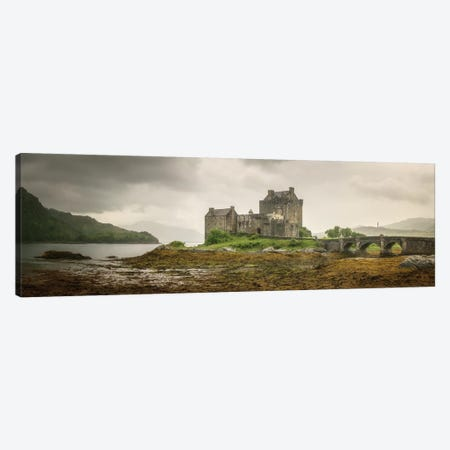 Eilean Donan Castle On Loch Duich Dornie Highlands Region Scotland Canvas Print #PHM274} by Philippe Manguin Canvas Wall Art