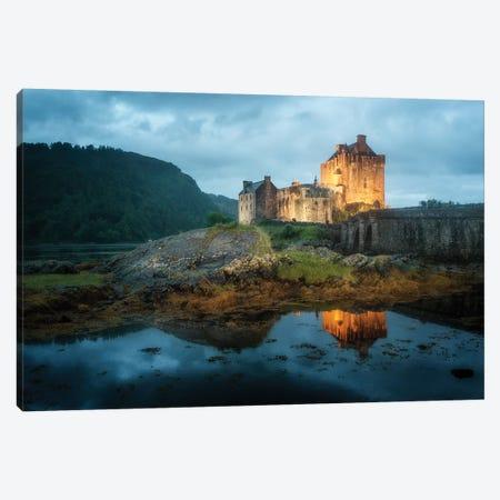 Eilean Donan Castle Scotland Canvas Print #PHM275} by Philippe Manguin Canvas Wall Art