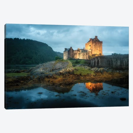 Eilean Donan Castle Scotland Canvas Print #PHM275} by Philippe Manguin Canvas Wall Art