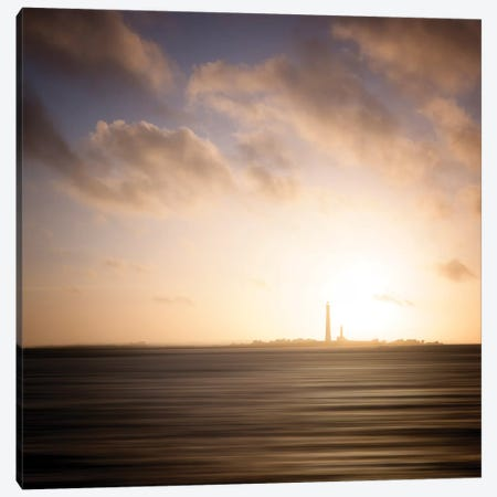 Ile Vierge Lighthouse Canvas Print #PHM280} by Philippe Manguin Canvas Artwork