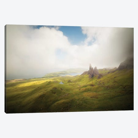 Isle Of Skye Old Man Of Storr In Highlands Scotland I Canvas Print #PHM281} by Philippe Manguin Canvas Wall Art