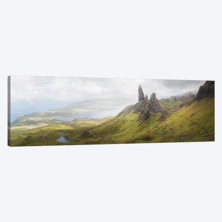 Isle Of Skye Old Man Of Storr In Highlands Scotland II Canvas Print #PHM282} by Philippe Manguin Canvas Artwork