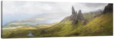 Isle Of Skye Old Man Of Storr In Highlands Scotland II Canvas Art Print