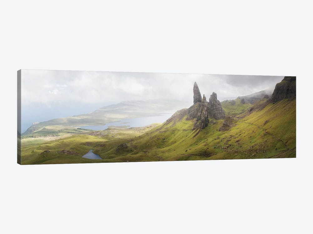 Isle Of Skye Old Man Of Storr In Highlands Scotland II by Philippe Manguin 1-piece Canvas Art