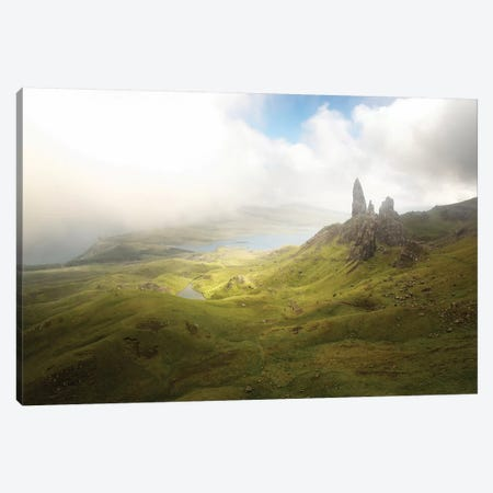 Isle Of Skye Old Man Of Storr In Highlands Scotland III Canvas Print #PHM283} by Philippe Manguin Canvas Art