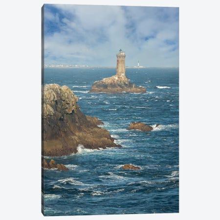 La Vieille, Lighthouse Canvas Print #PHM286} by Philippe Manguin Canvas Print