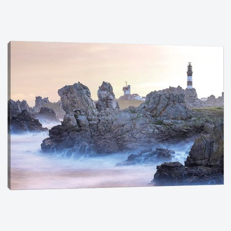 Le Phare Du Creac'H Canvas Print #PHM289} by Philippe Manguin Canvas Wall Art