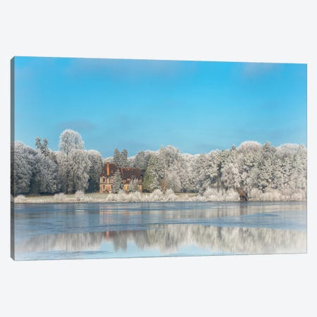 Broceliande Ice Castle In Winter Morning Canvas Print #PHM28} by Philippe Manguin Art Print