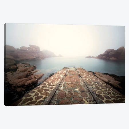 Meeting With Poseidon Canvas Print #PHM291} by Philippe Manguin Art Print