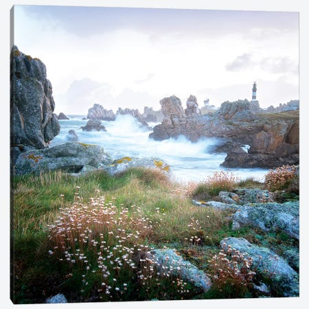 Ouessant Island Sea Shore Canvas Print #PHM298} by Philippe Manguin Art Print