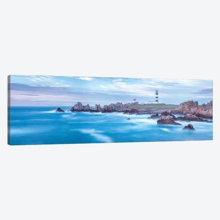 Panrama Île D'Ouessant - Le Phare Du Creac'H Canvas Print #PHM302} by Philippe Manguin Canvas Print