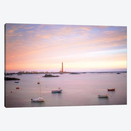 Plouguerneau Lighthouse Canvas Print #PHM306} by Philippe Manguin Canvas Art