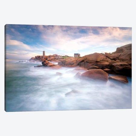 Ploumanac'H Sea Shore In Bretagne Canvas Print #PHM308} by Philippe Manguin Canvas Art Print