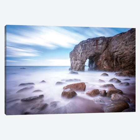 Quiberon Arch Canvas Print #PHM316} by Philippe Manguin Canvas Print