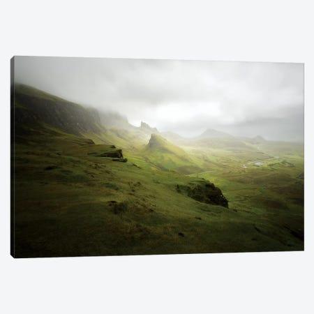 Quiraing In Skye Island Scotland Canvas Print #PHM317} by Philippe Manguin Art Print
