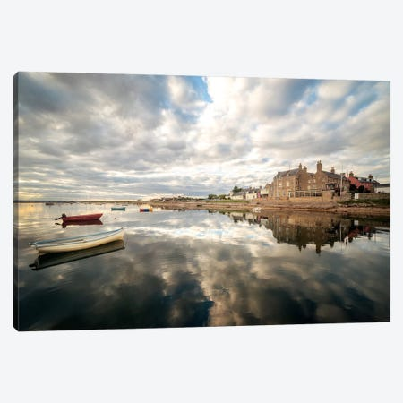 Reflection On The Sea Canvas Print #PHM318} by Philippe Manguin Canvas Wall Art