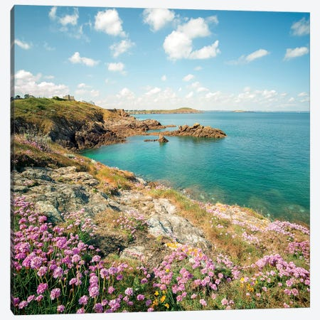 Saint Lunaire In Bretagne I Canvas Print #PHM321} by Philippe Manguin Art Print