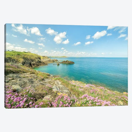 Saint Lunaire In Bretagne II Canvas Print #PHM322} by Philippe Manguin Canvas Print