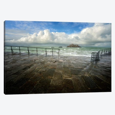 Saint Malo Canvas Print #PHM325} by Philippe Manguin Canvas Art
