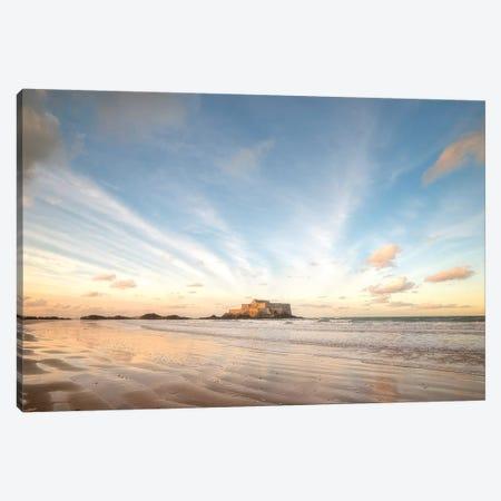 Saint Malo Panoramic Canvas Print #PHM329} by Philippe Manguin Canvas Art Print