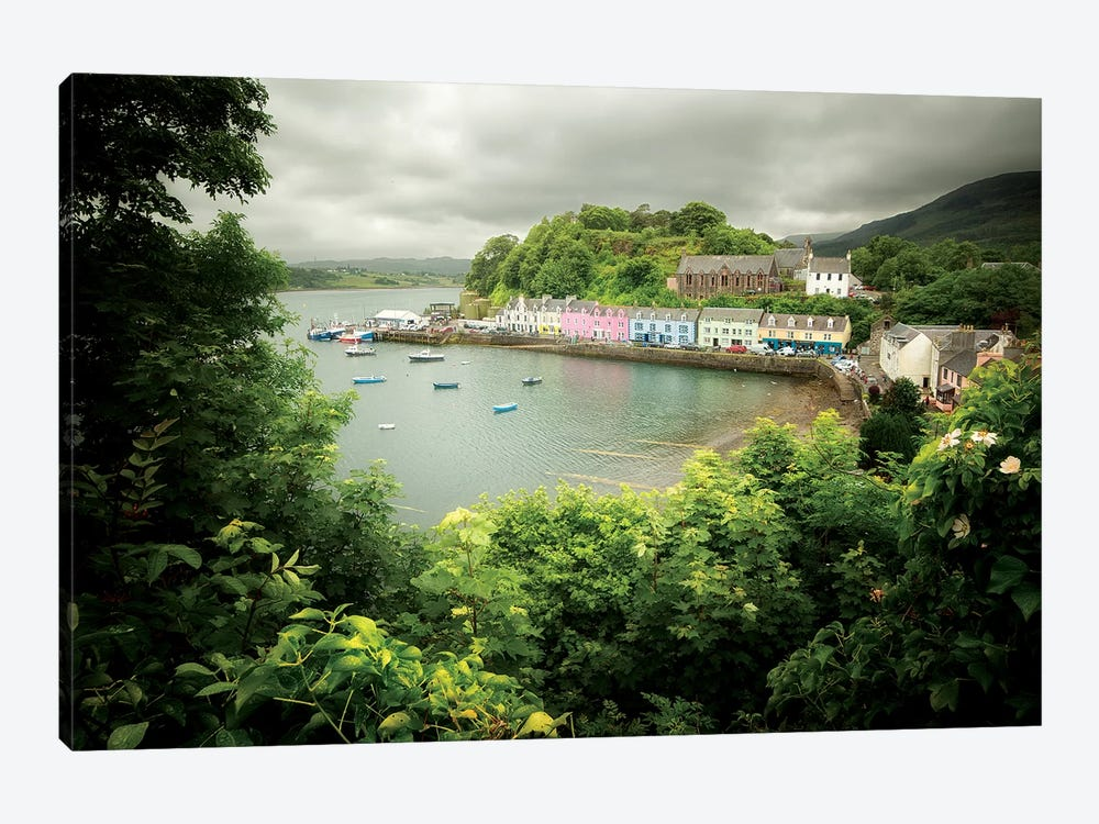 Scotland, Portree Harbor On Skye Island by Philippe Manguin 1-piece Art Print