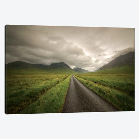 The Road To Highlands Canvas Print #PHM337} by Philippe Manguin Canvas Print
