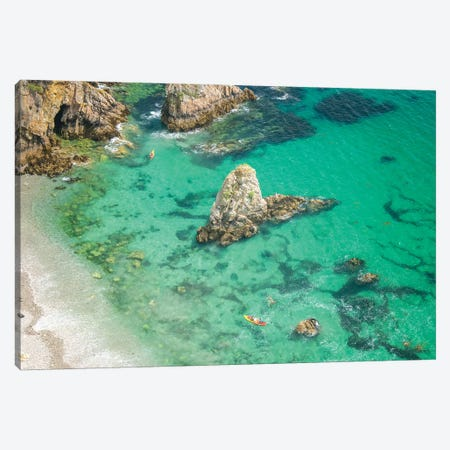 Crozon Paradise Beach In Brittany II Canvas Print #PHM345} by Philippe Manguin Canvas Wall Art
