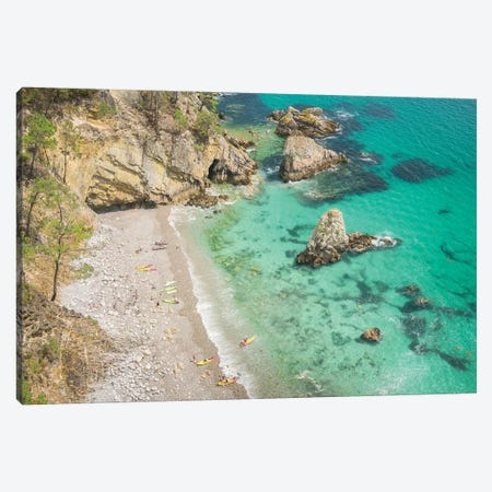 Crozon Paradise Beach In Brittany Canvas Print #PHM347} by Philippe Manguin Canvas Artwork
