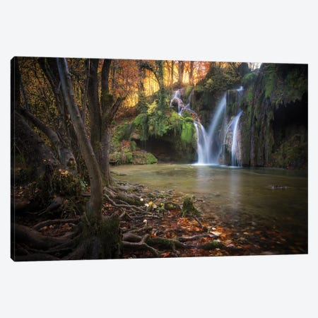 Cascade Des Tufs II Canvas Print #PHM34} by Philippe Manguin Canvas Art Print