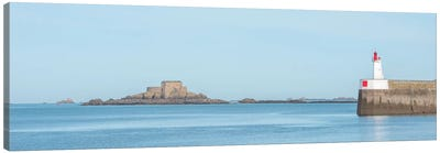 Saint Malo Panoramic II Canvas Art Print