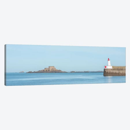 Saint Malo Panoramic II Canvas Print #PHM350} by Philippe Manguin Canvas Artwork