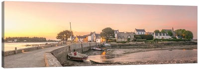 Saint Cado Panoramic Canvas Art Print