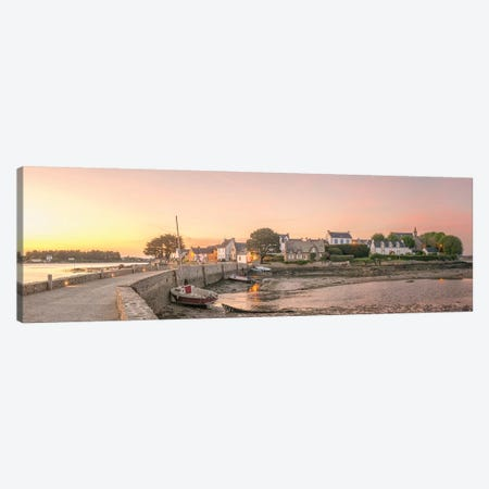 Saint Cado Panoramic 3-Piece Canvas #PHM353} by Philippe Manguin Canvas Art