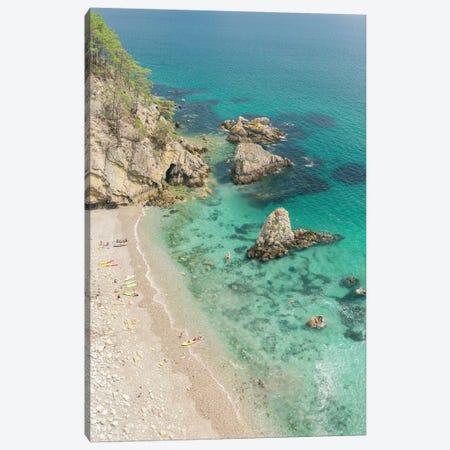 Sunny Beach On Crozon Island Canvas Print #PHM365} by Philippe Manguin Canvas Art